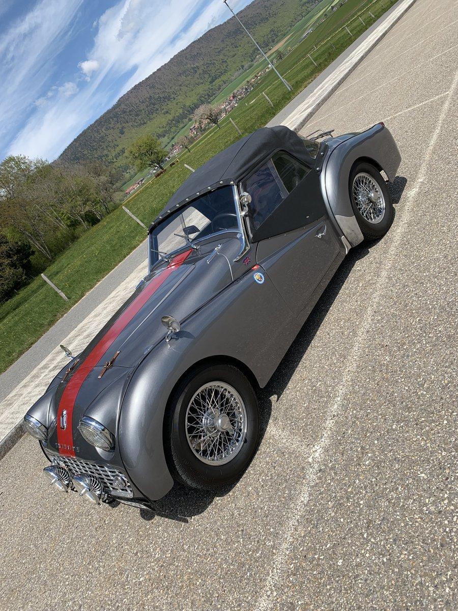 1960 Perfect Triumph TR3 For Sale (picture 1 of 6)