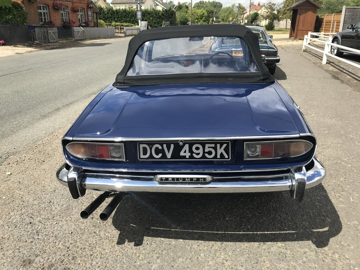 1972 Triumph Stag - Completed renovation For Sale (picture 8 of 12)