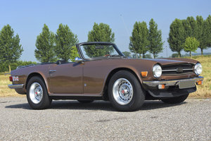 1974 Triumph TR6 in the original colour Maple Brown