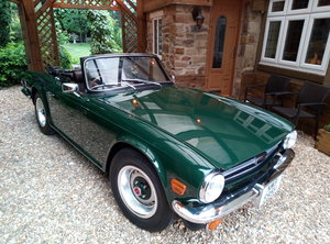 TRIUMPH TR6 GROUND UP RESTORATION