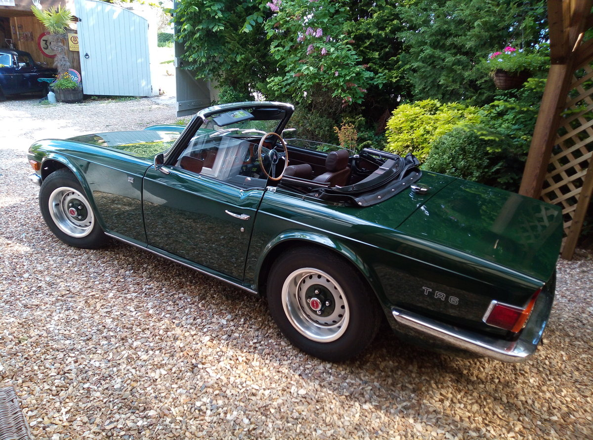 1975 TRIUMPH TR6 GROUND UP RESTORATION  For Sale (picture 5 of 6)