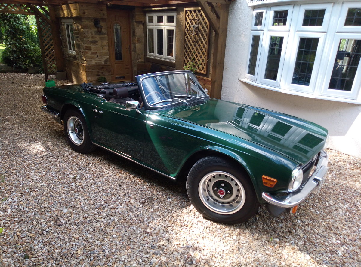 1975 TRIUMPH TR6 GROUND UP RESTORATION  For Sale (picture 6 of 6)