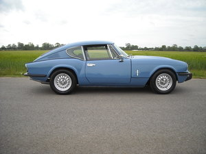 1974 TRIUMPH GT6 MK3 MAN O/D FITTED 2.5 ENGINE SUPERB THROUGH OUT For Sale