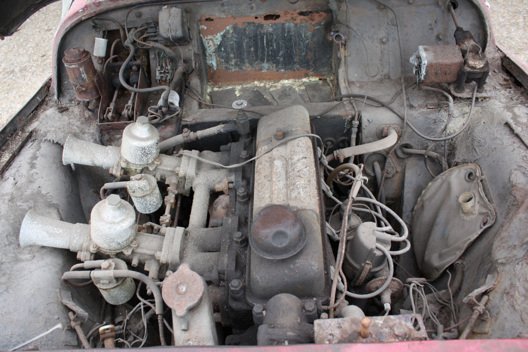 TR3A 1960 GENUINE BARN FIND CAR! SOLD (picture 3 of 5)