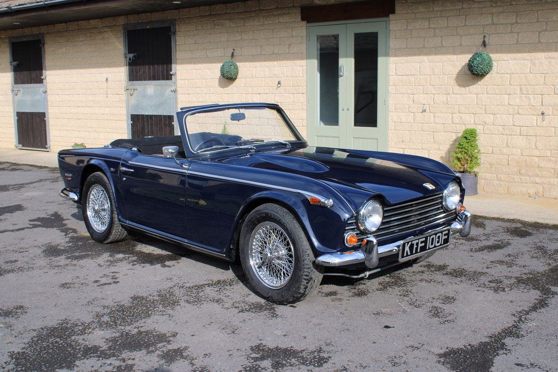 1968 TRIUMPH TR5 - £56,950 - BEST AVAILABLE  For Sale (picture 1 of 12)