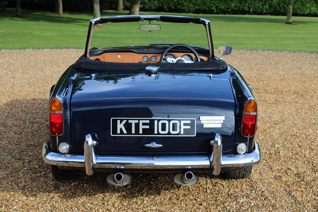 1968 TRIUMPH TR5 - £56,950 - BEST AVAILABLE  For Sale (picture 2 of 12)