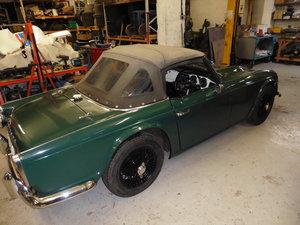 1963 Older restoration Triumph TR 4. For Sale