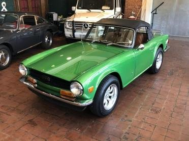 1972 Triumph TR6 Roadster Convertible Go Green(~)Ginger $25.9k For Sale