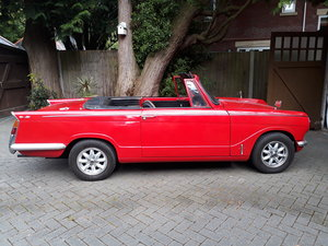 1968 Herald 13/60 convertible rust free restored For Sale