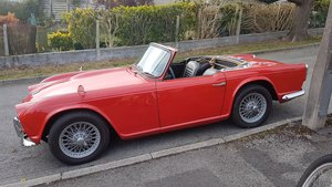 1964 Triumph TR4 for sale by auction on June 15th For Sale by Auction
