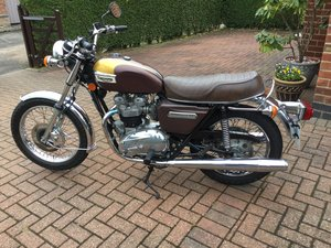 Triumph Bonneville t140e 1978 For Sale