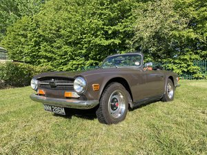 1973 Triumph TR6 2.5 PI CP Series. For Sale