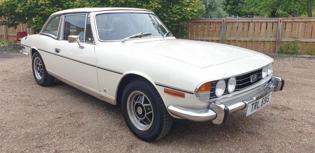 **NEW ENTRY** 1978 Triumph Stag SOLD by Auction (picture 1 of 1)