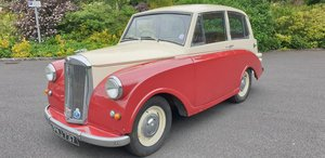 **NEW ENTRY** 1953 Triumph Mayflower SOLD by Auction