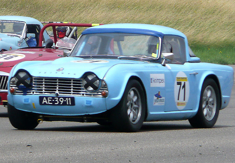 1962 Triumph TR4 LHD Race/rally car For Sale (picture 1 of 6)