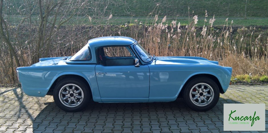 1962 Triumph TR4 LHD Race/rally car For Sale (picture 2 of 6)