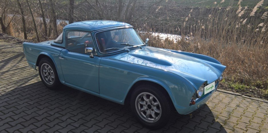 1962 Triumph TR4 LHD Race/rally car For Sale (picture 3 of 6)