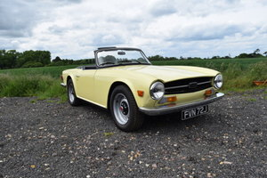1971 Triumph TR6 For Sale by Auction