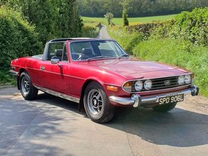 1972 Triumph Stag For Sale by Auction