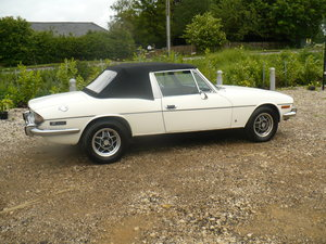 triumph stag mk2 manual overdrive 1974 43000 miles For Sale