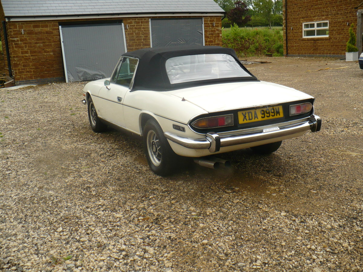 triumph stag mk2 manual overdrive 1974 43000 miles SOLD (picture 3 of 6)