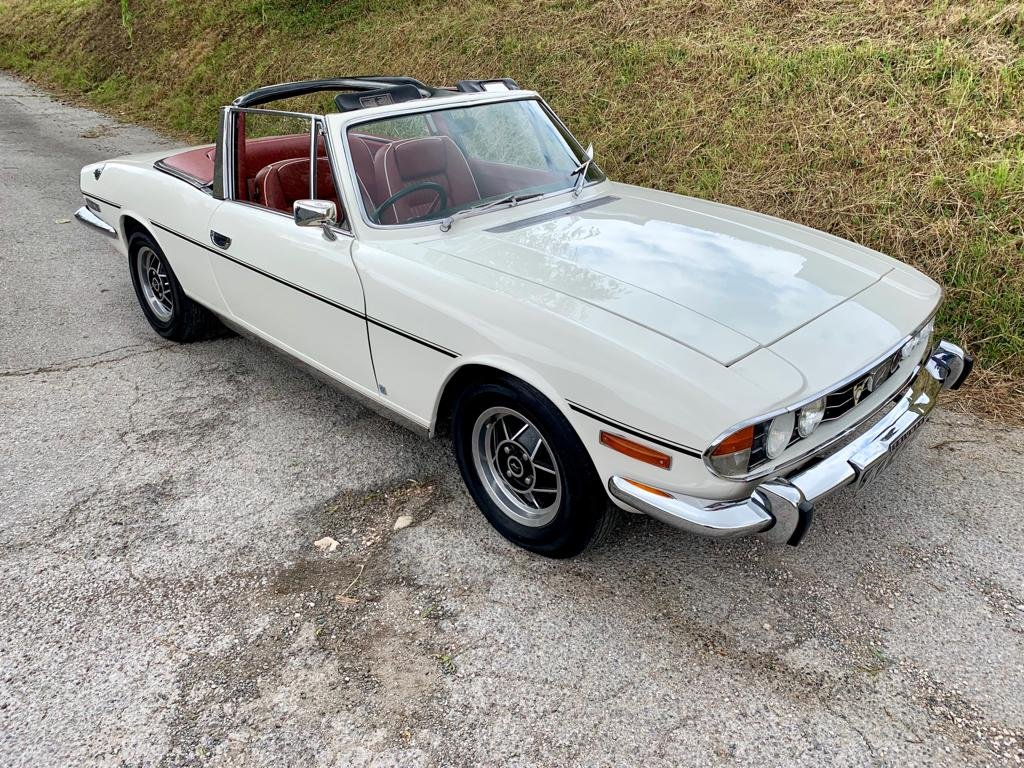 1972 Triumph Stag 3.0V8 Manual + Overdrive ............ For Sale (picture 1 of 6)