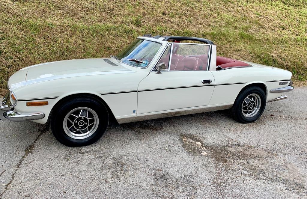 1972 Triumph Stag 3.0V8 Manual + Overdrive ............ For Sale (picture 3 of 6)