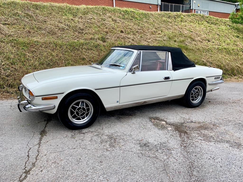 1972 Triumph Stag 3.0V8 Manual + Overdrive ............ For Sale (picture 5 of 6)
