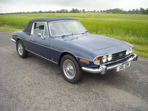 1973 TRIUMPH STAG MAN O/D STUNNING  NOW SOLD For Sale