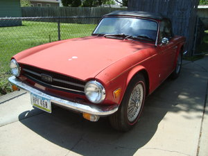 1971 Triumph TR 6 Convertible For Sale