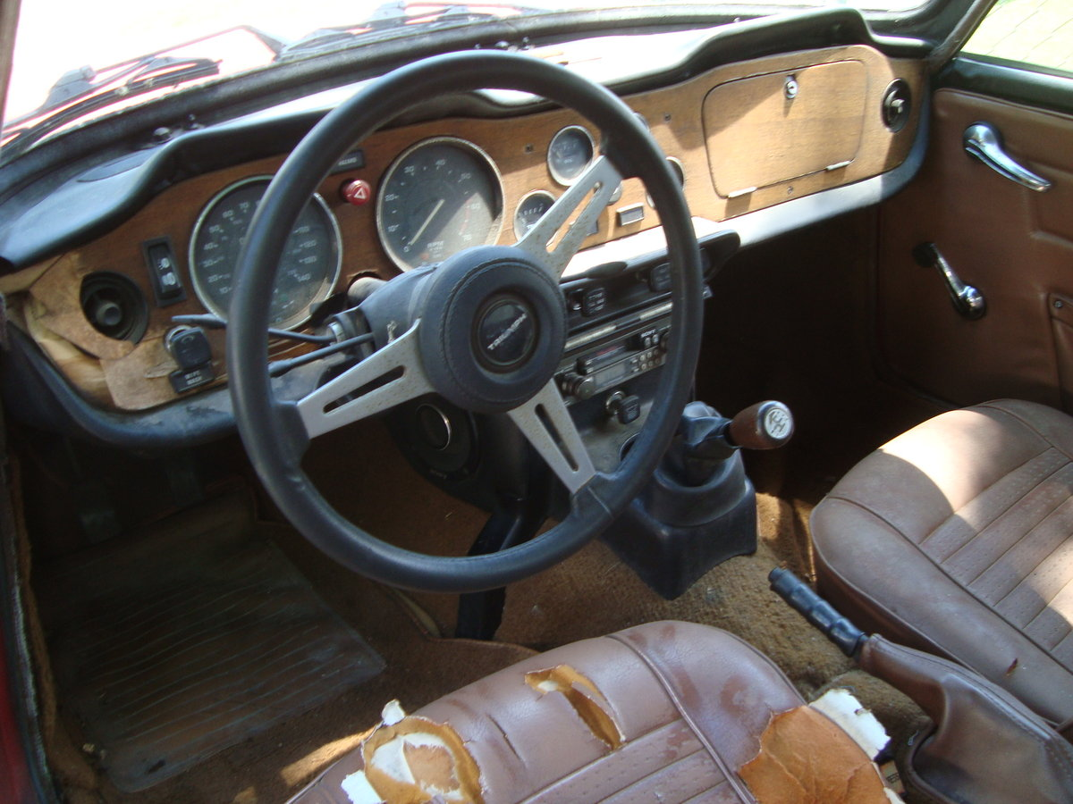 1971 Triumph TR 6 Convertible For Sale (picture 5 of 6)