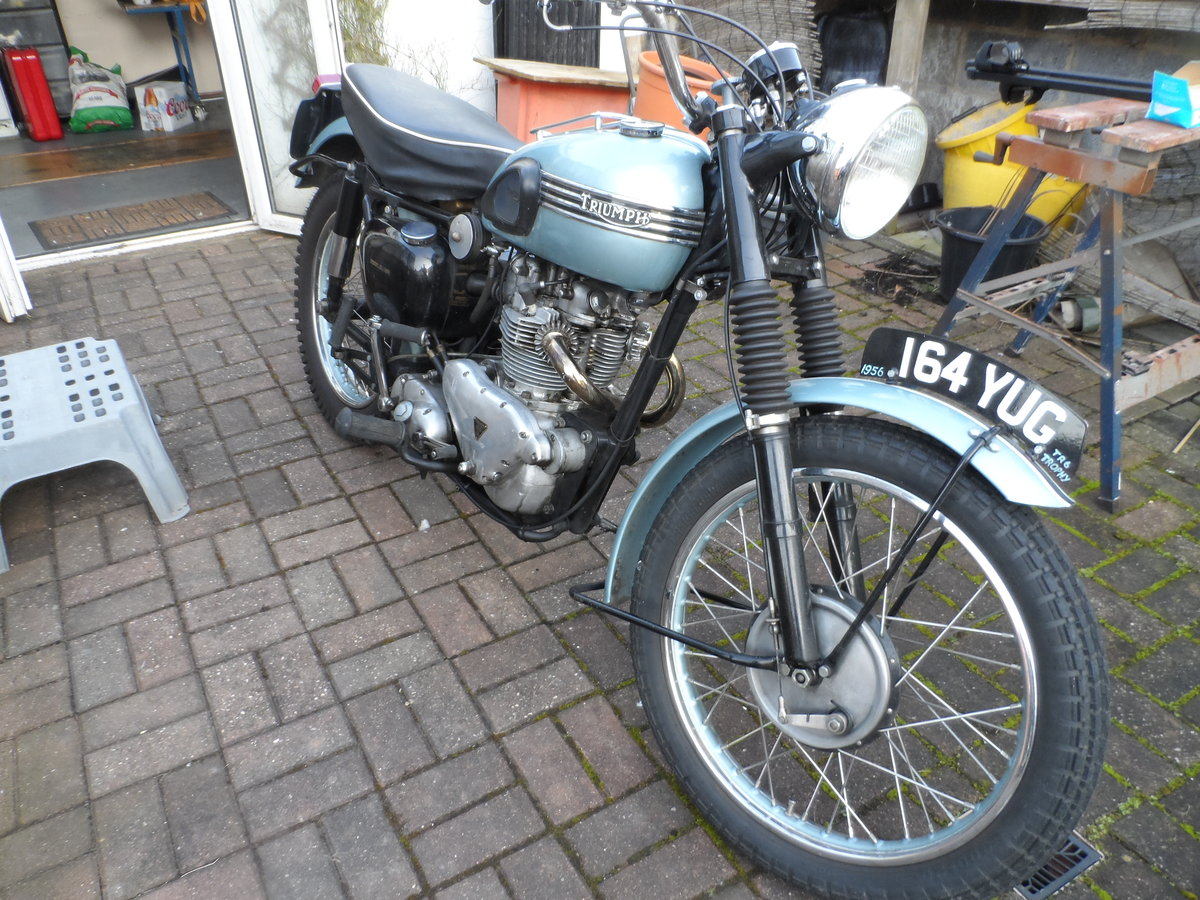 1956 Triumph TROPHY For Sale (picture 5 of 6)