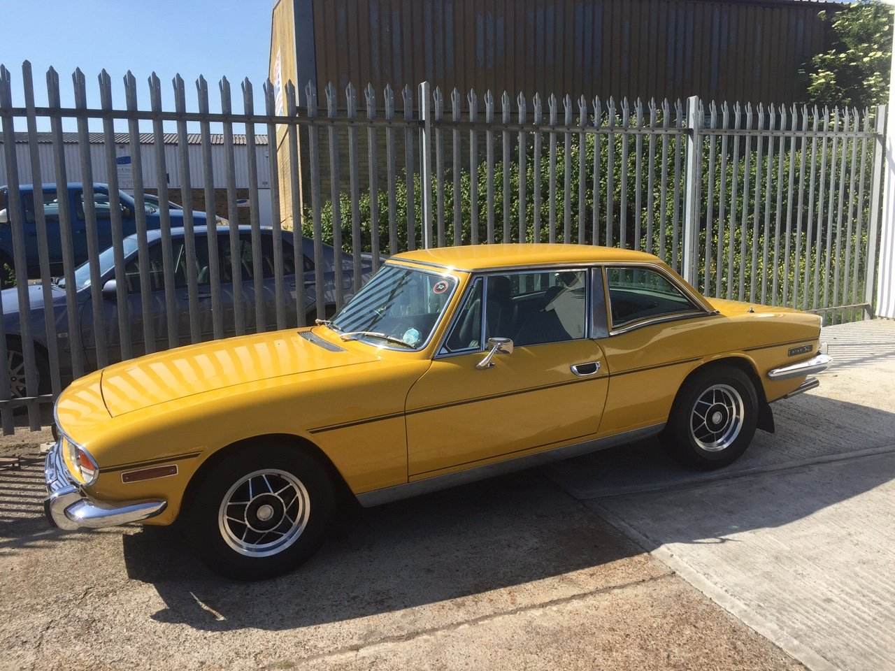Inca Yellow Triumph Stag.1976. 60,000 miles. For Sale (picture 3 of 5)