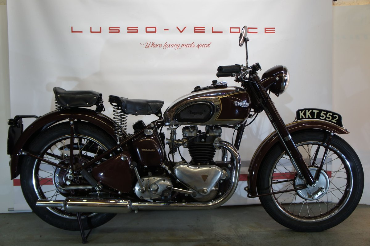 1948 Triumph sprung hub Speed Twin For Sale (picture 1 of 6)