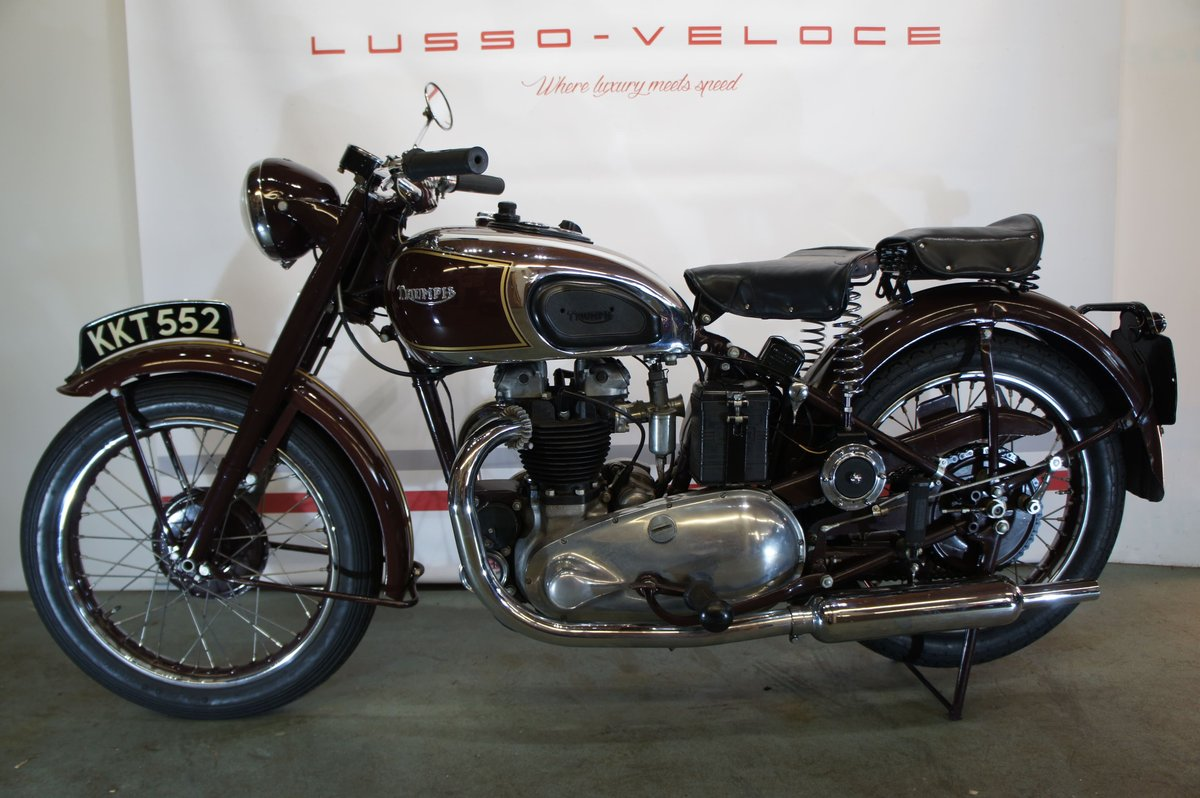 1948 Triumph sprung hub Speed Twin For Sale (picture 2 of 6)