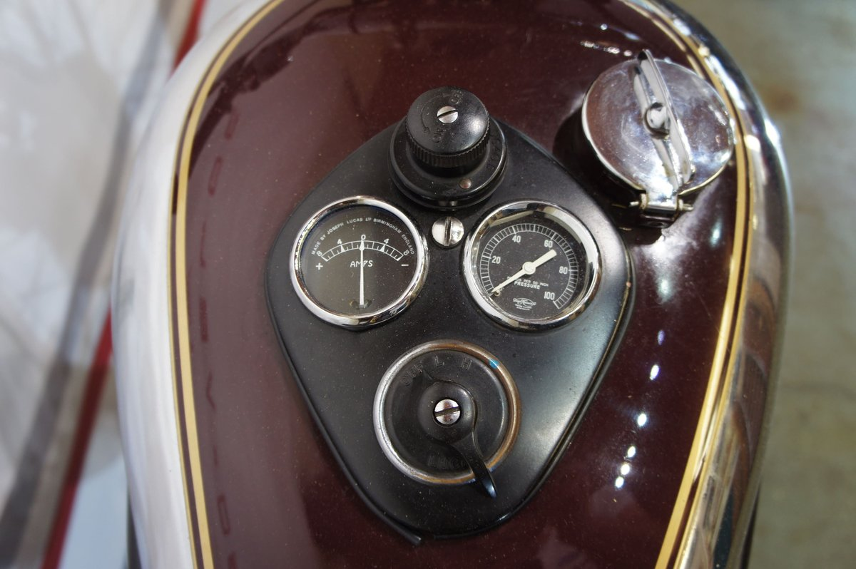 1948 Triumph sprung hub Speed Twin For Sale (picture 5 of 6)