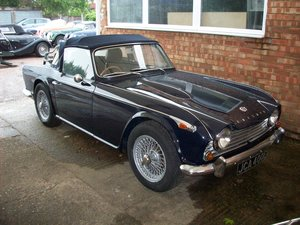 1967 TR4A IRS For Sale