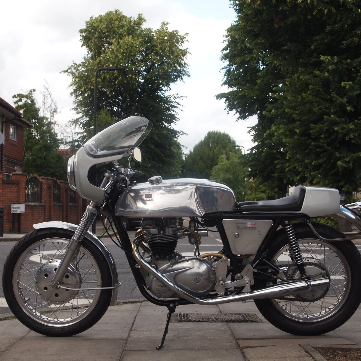 1968 Triumph Rickman Metisse 650 Cafe Racer, Vin No. 204C. For Sale (picture 1 of 6)