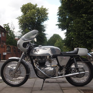 1968 Triumph Rickman Metisse 650 Cafe Racer, Vin No. 204C. For Sale