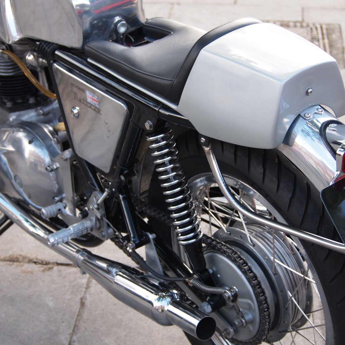 1968 Triumph Rickman Metisse 650 Cafe Racer, Vin No. 204C. For Sale (picture 4 of 6)