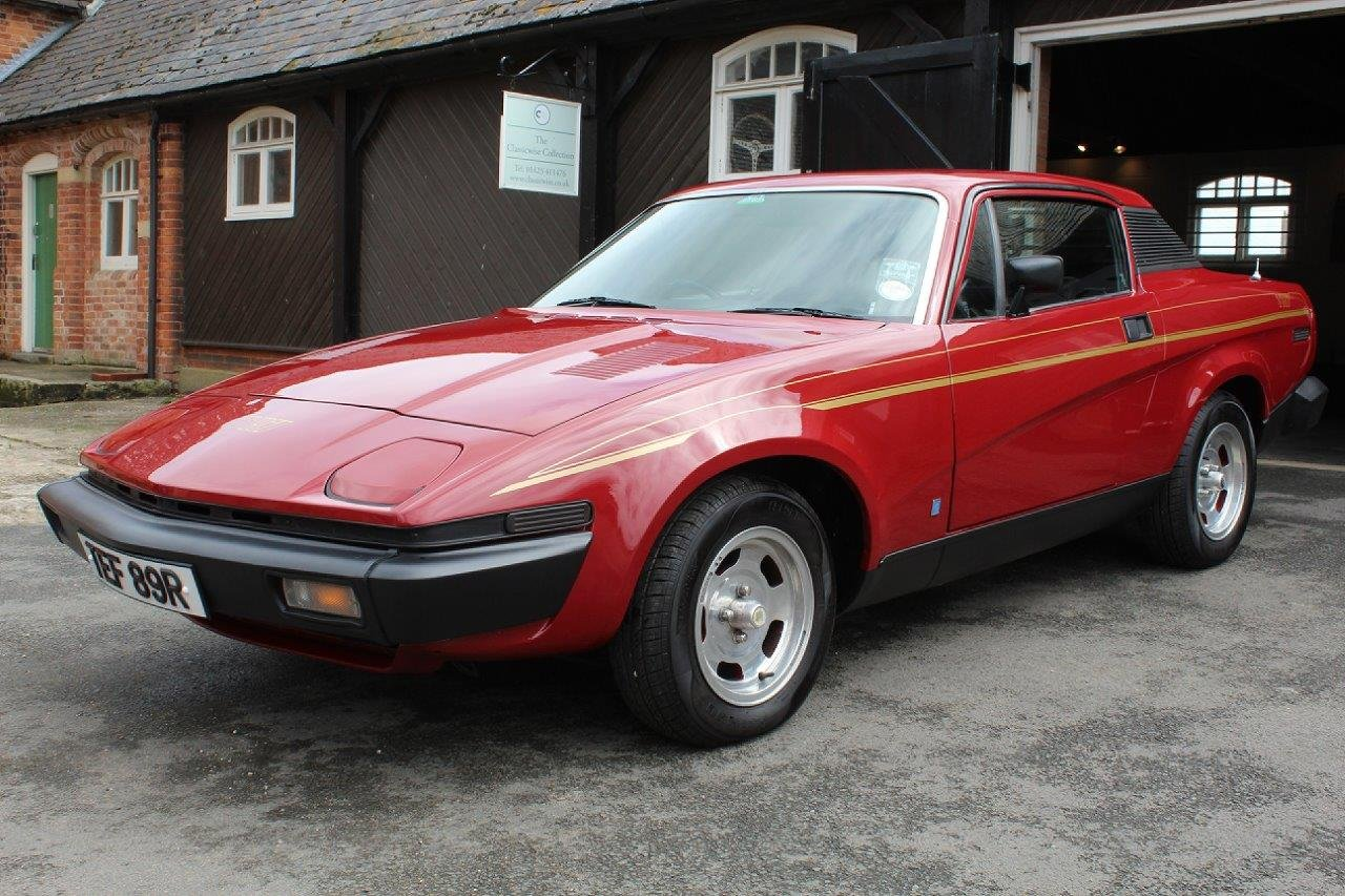 1976/R TRIUMPH TR7  SOLD (picture 2 of 6)