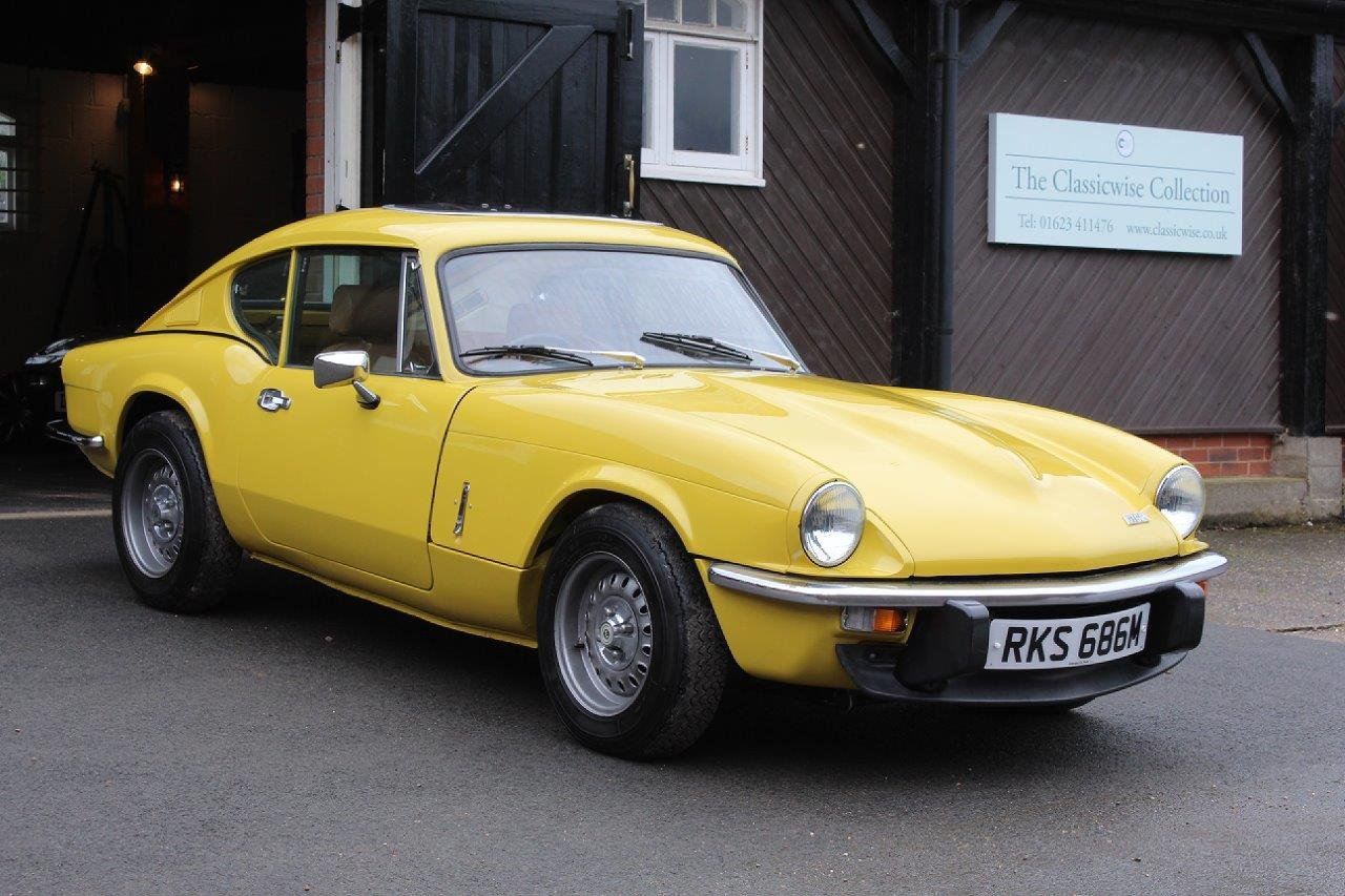 1974/M TRIUMPH GT6 MANUAL O/D  For Sale (picture 1 of 6)