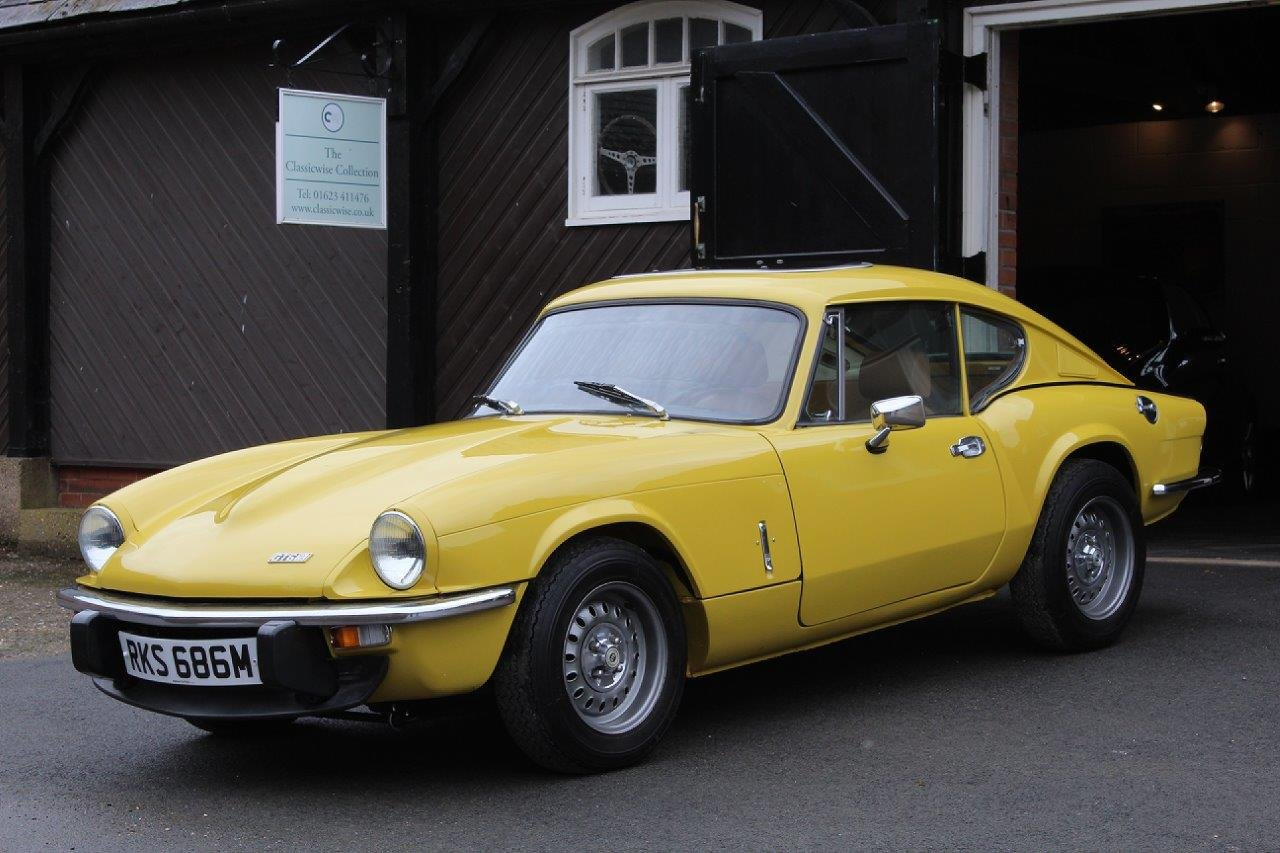 1974/M TRIUMPH GT6 MANUAL O/D  For Sale (picture 2 of 6)