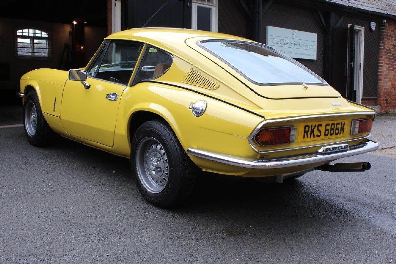 1974/M TRIUMPH GT6 MANUAL O/D  For Sale (picture 3 of 6)