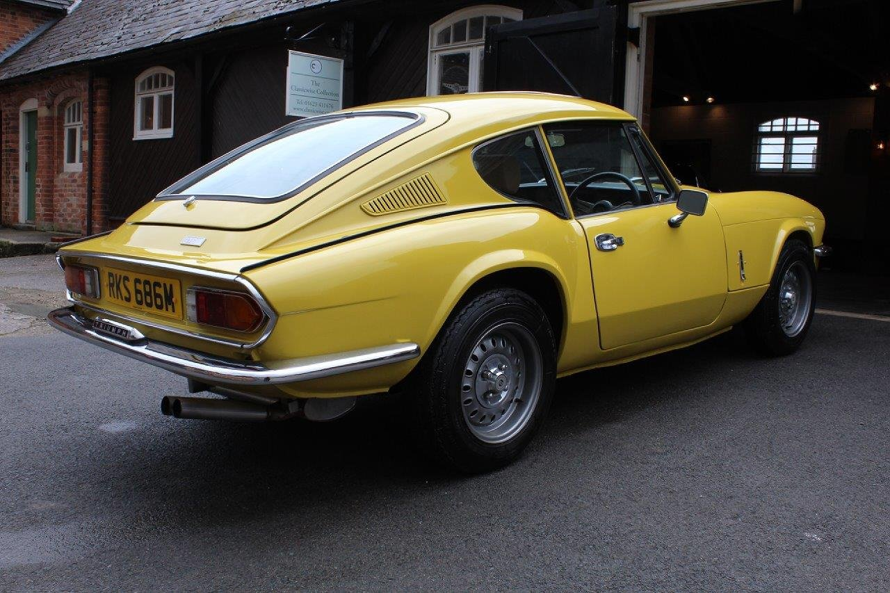 1974/M TRIUMPH GT6 MANUAL O/D  For Sale (picture 4 of 6)