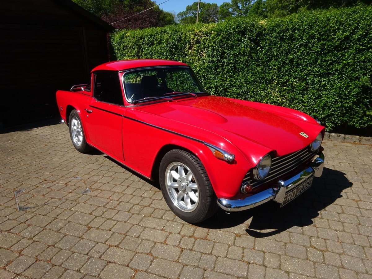 1968 Triumph TR5 - Fully rebuilt For Sale (picture 1 of 6)