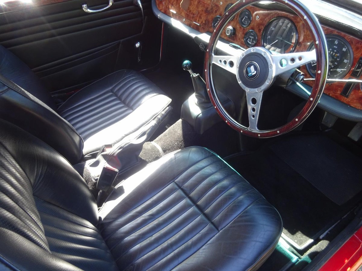 1968 Triumph TR5 - Fully rebuilt For Sale (picture 3 of 6)
