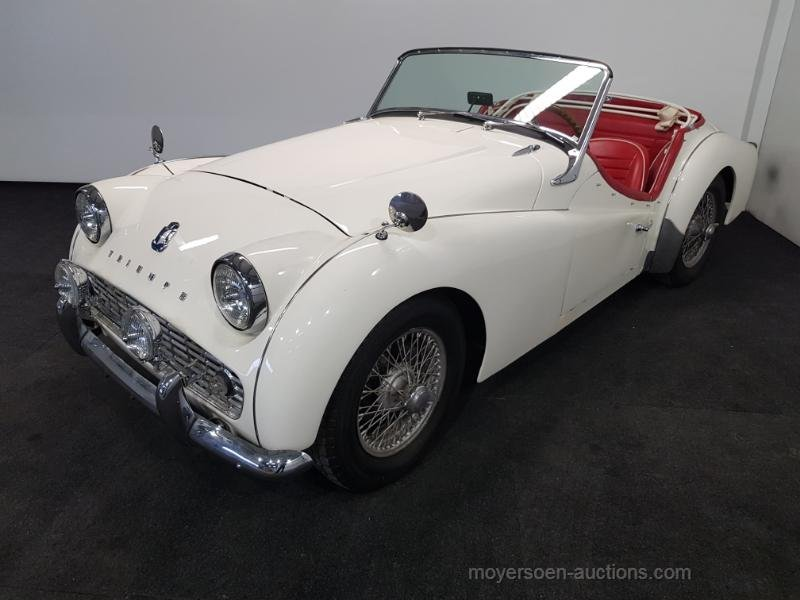 Triumph TR3 1960  For Sale by Auction (picture 1 of 6)