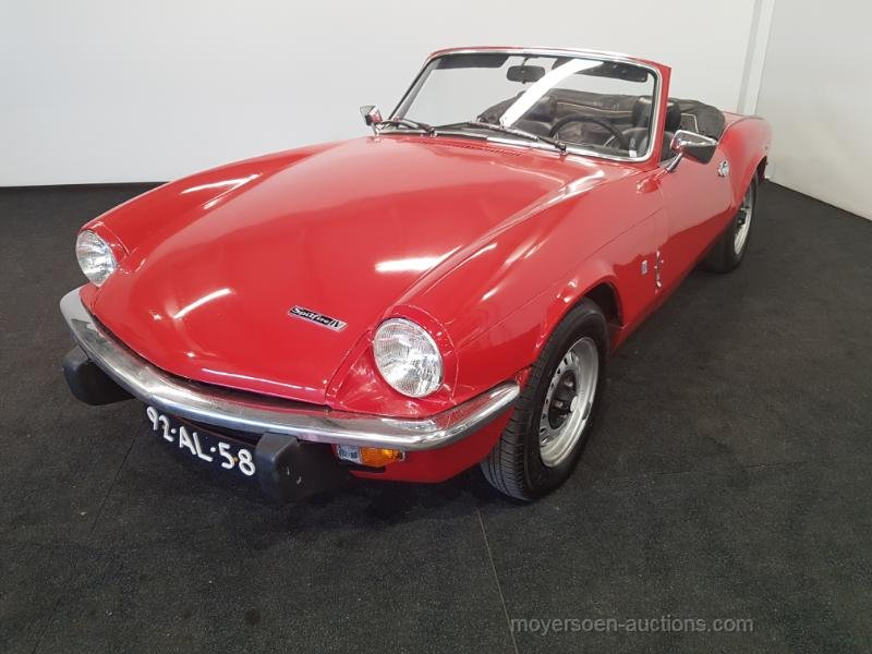 Triumph Spitfire 1973  For Sale by Auction (picture 1 of 6)