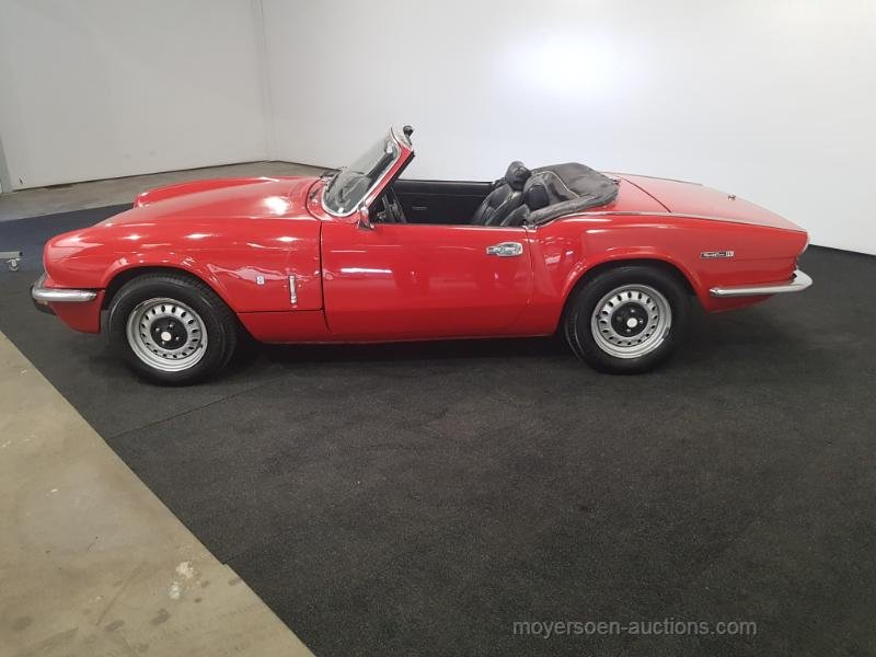 Triumph Spitfire 1973  For Sale by Auction (picture 2 of 6)